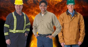 Heat and flame resistant clothing