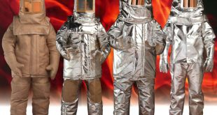 Radiant heat protective clothing