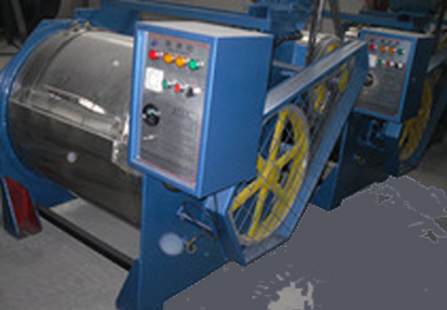 rotary garments dyeing machine